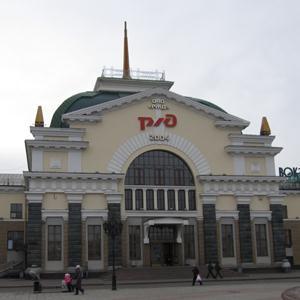 Железнодорожные вокзалы Волги